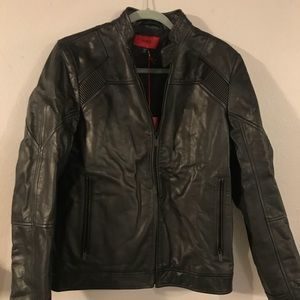 HUGO LEATHER JACKET GORGEOUS NEW WITH TAGS